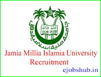 Jamia Millia Islamia University Recruitment