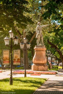 Памятник Петру Первому Воронеж