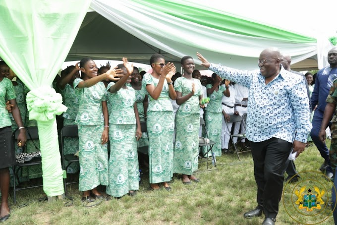 """""""Free SHS Needs The Support Of All"""" – President Akufo-Addo"""
