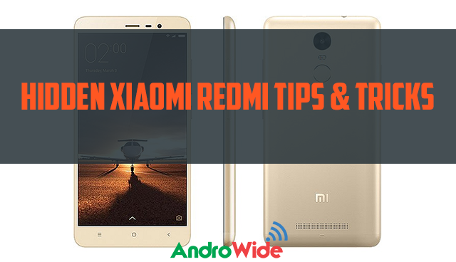 redmi tips and tricks