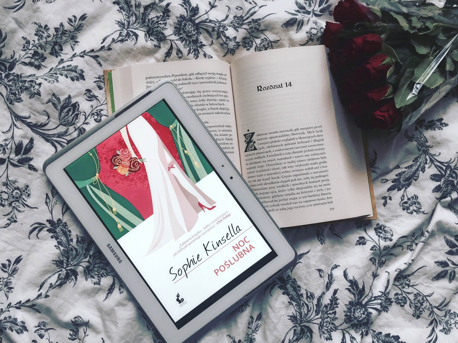 Noc poślubna, Sophie Kinsella