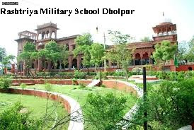 Rashtriya Military School Dholpur Recruitment - master post