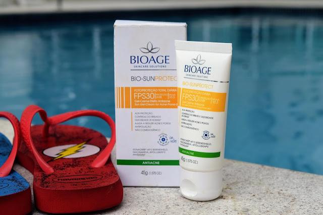 BioAge Bio-Sun com FPS30 para o verão