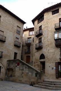 "Valderrobres, escaleras de ""el Pelleric""."
