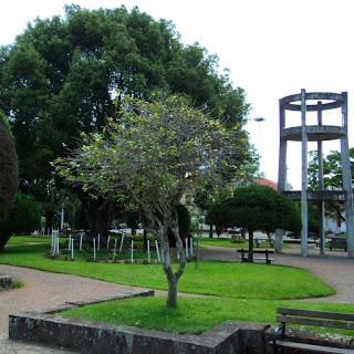 Praça Central, em Pinto Bandeira