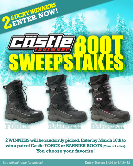 4d02bc14032 Announcing the CastleXRacewear Facebook Sweepstakes Winners ...