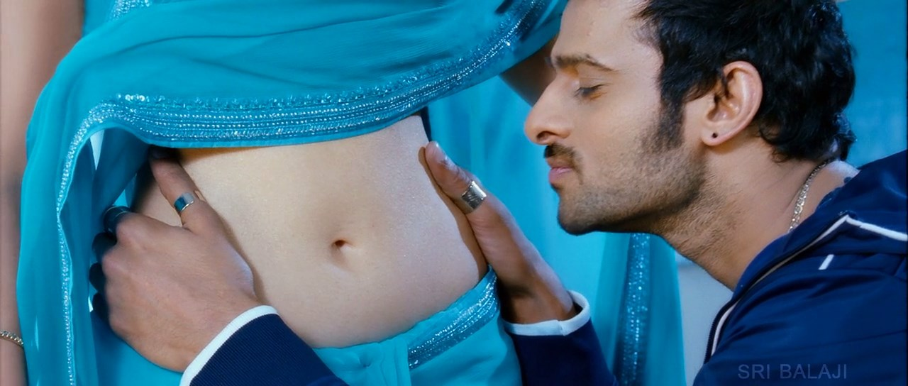 Only Actress Tamanna Navel Kiss And Touch By Prabas At -6775