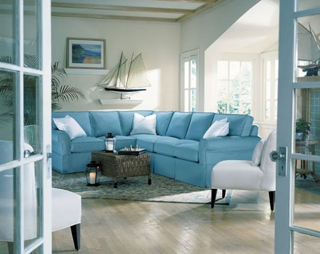 Nautical decor home interior design nautical handcrafted Beach decorating ideas for living room