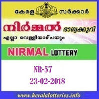 Nirmal (NR-57) LOTTERY RESULT