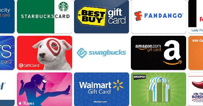 Premios y dinero en Swagbucks
