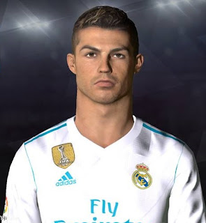 PES 2017 Faces Cristiano Ronaldo by Facemaker Ahmed El Shenawy