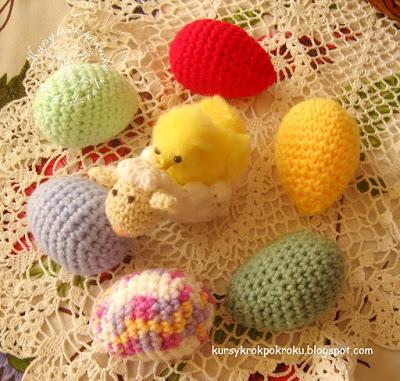 Jajko amigurumi na szydełku - samouczek