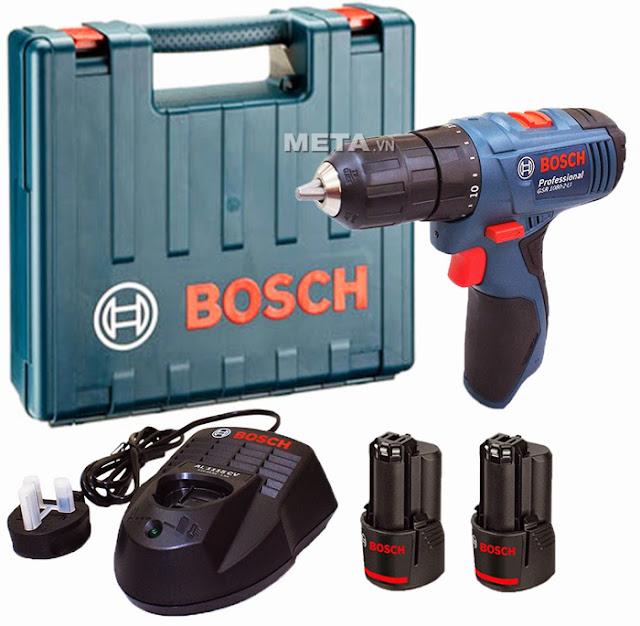 Máy khoan và vặn vít Bosch GSR 1080-2-LI