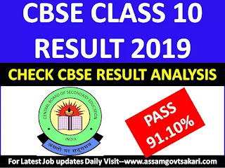 CBSE 10th Result 2019-Check analysis on CBSE Class X Result