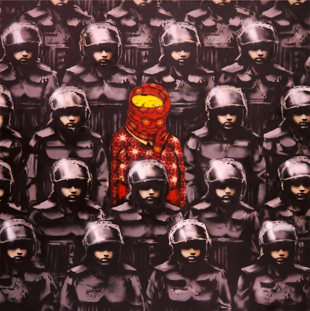 Banksy's New Pieces In New York City With Os Gemeos For Better Out Than In. Day 18 6