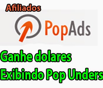 popads afiliado que paga por visualizações de pop unders e pop up