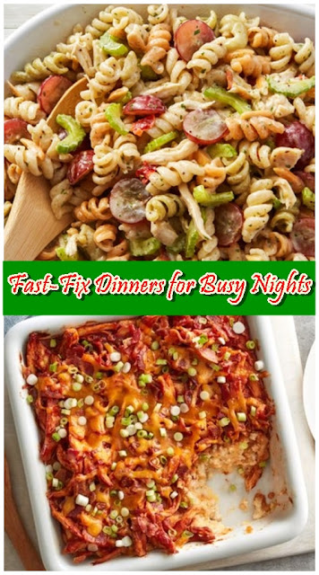 Fast-Fix Dinners for Busy Nights