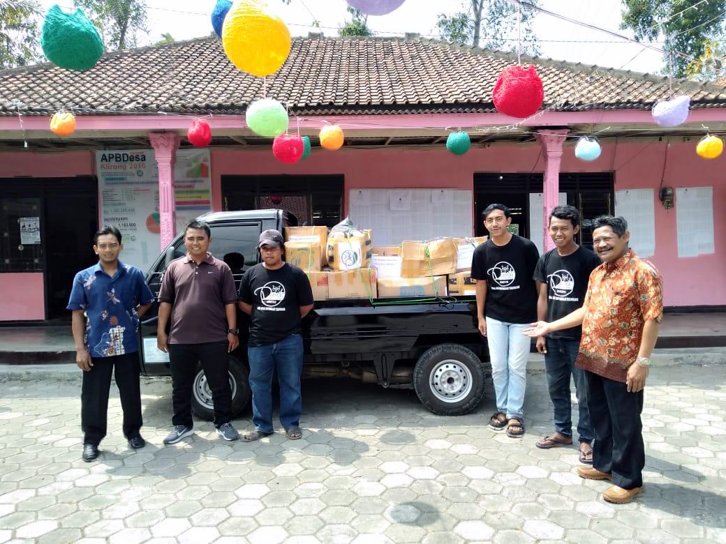 Bakti Sosial Komunitas DeMIT untuk korban Gempa Lombok 2018