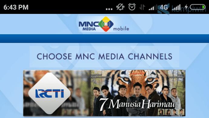 6 Aplikasi TV Online Indonesia Terbaik Android 2