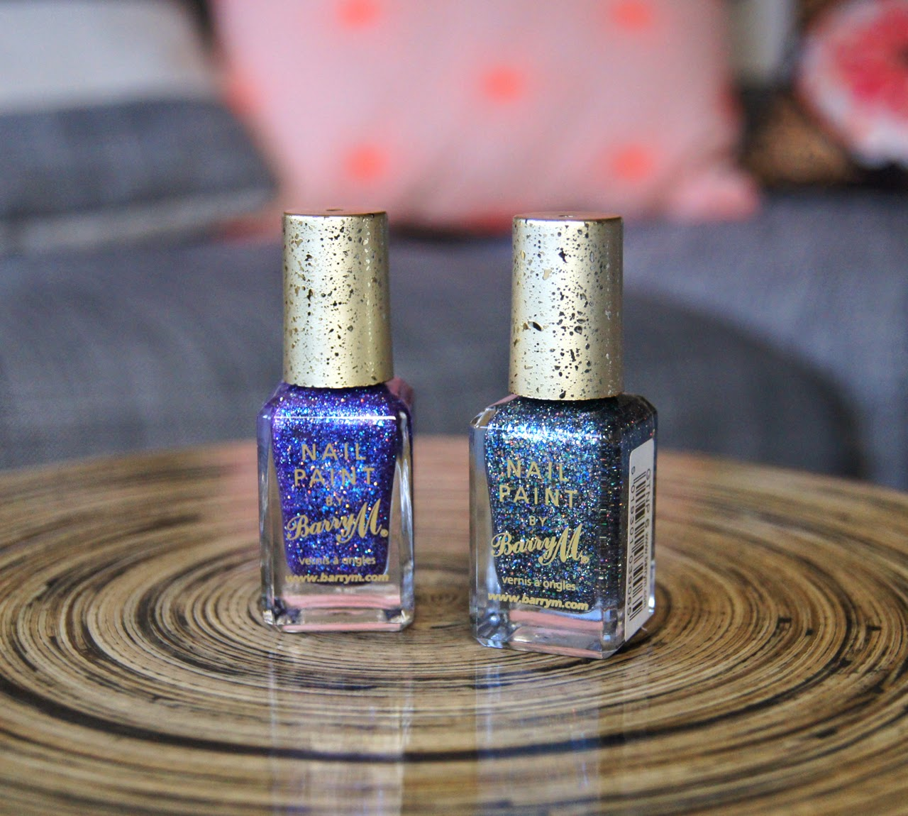 barry m glitterati collection nail polish fashion icon rockstar review
