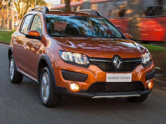 Novo Renault Sandero 2017 1.6 Stepway