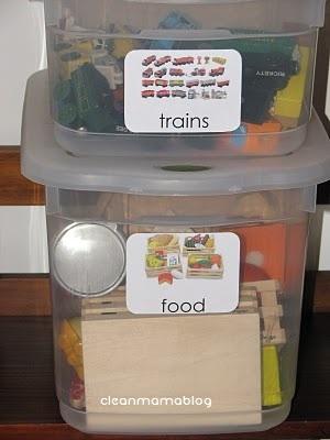 Organizing Kid Stuff - The Idea Room