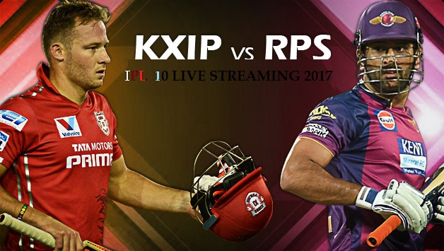 KXIP vs RPS Match 8th April online Live Streaming Prediction