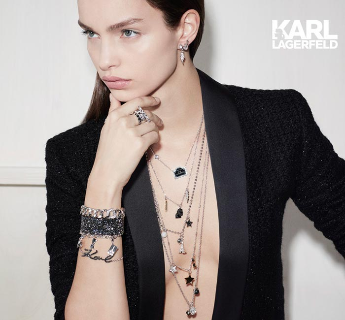 Karl Lagerfeld x Swarovski Jewellery Collection 2017