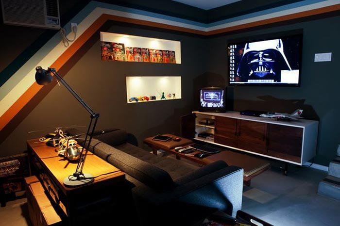 darth vader game room