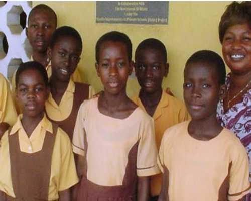 الزي المدرسي في غانا