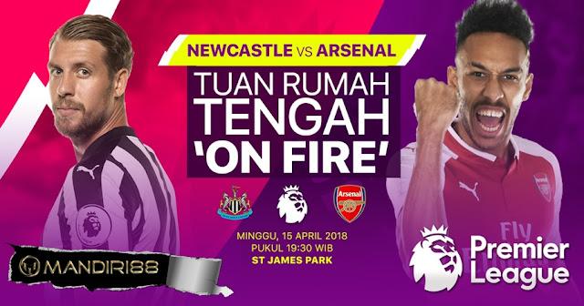 Prediksi Newcastle United Vs Arsenal, Minggu 15 April 2018 Pukul 19.30 WIB