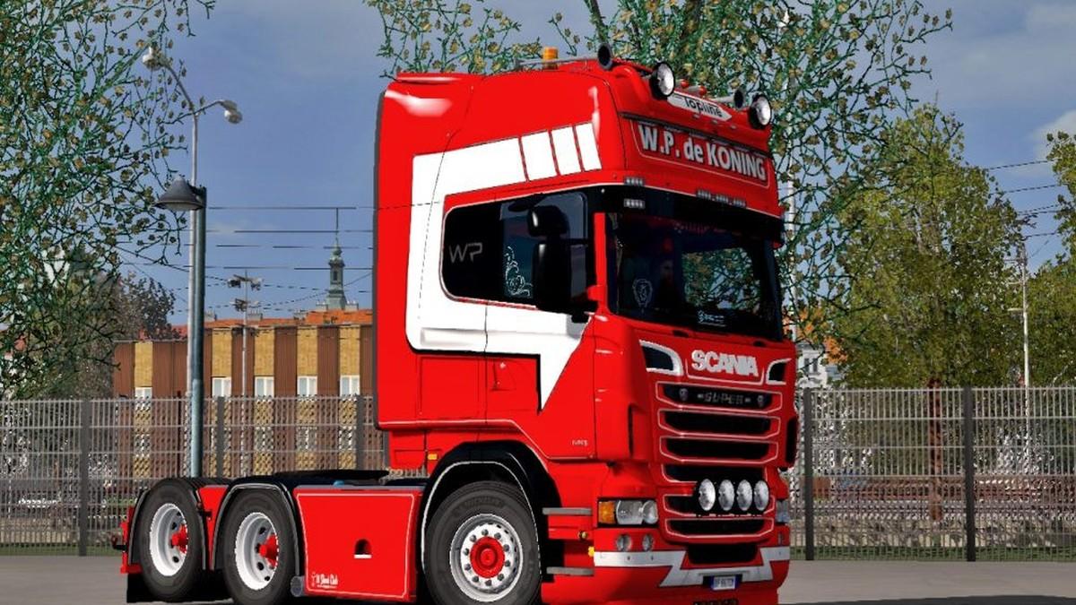 Scania RJL W.P. de Koning Skin
