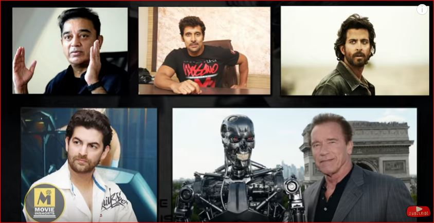 Robot 2 vs Robot 2 0 vs Bahubali 2 bollywood Dhamaka New Moves ROBOT