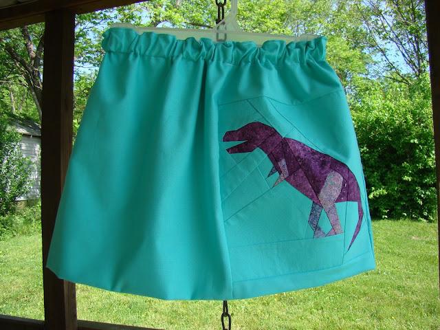 dinosaur toddler skirt