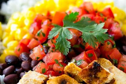 Recipes Dinner Healthy Meal Prep Burrito Bowls