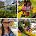 Peter Okoye's wife Lola Omotayo and their children vacation in Florida