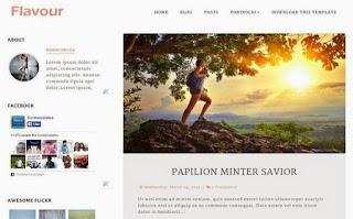 Flavour Elegant Blogger Template