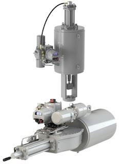 electro-hydraulic valve actuator rotork skilmatic