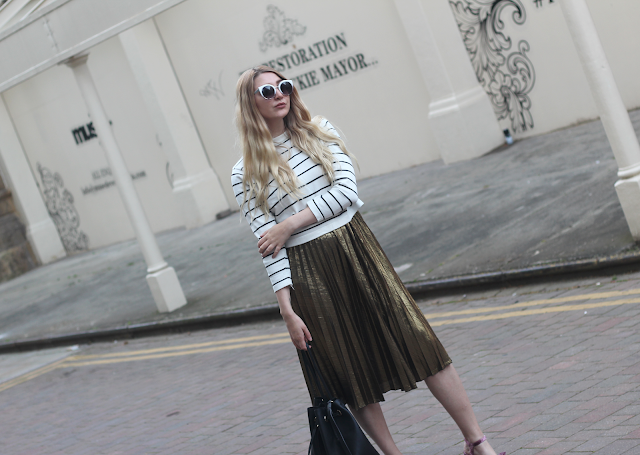 how to style breton stripes fashion blog