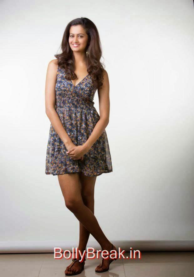 Shubra Aiyappa Photoshoot Stills, Shubra Aiyappa hot HD Pics in Skirt Dress from Yavvanam Oka Fantasy Movie