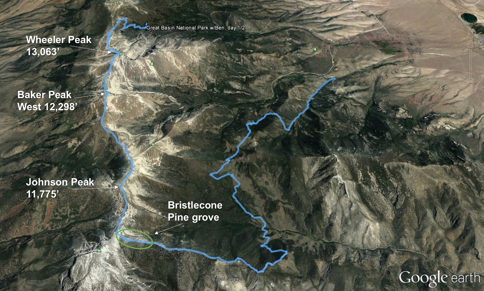 Seeking Ultra Great Basin National Park Nevada 2016