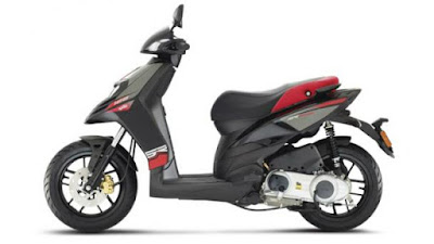 Upcoming 2016 Aprilia SR 150  side Hd pose