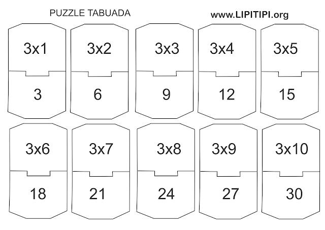 Jogo pedagógico Multiplicação Primeiro Ciclo