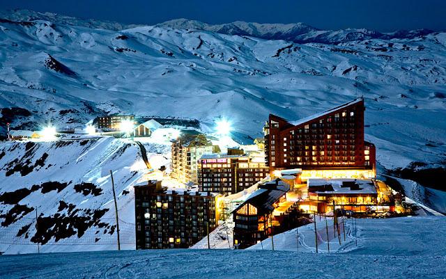 Estação de esqui Valle Nevado, Chile