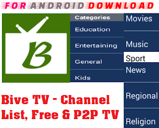 Download P2PBiveTV-IPTV Android Apk - Watch Premium Cable LiveTV,Movies,Sports On Android