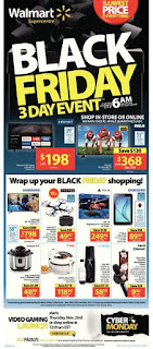 Walmart Weekly Flyer valid November 24 - 26, 2017 Black Friday