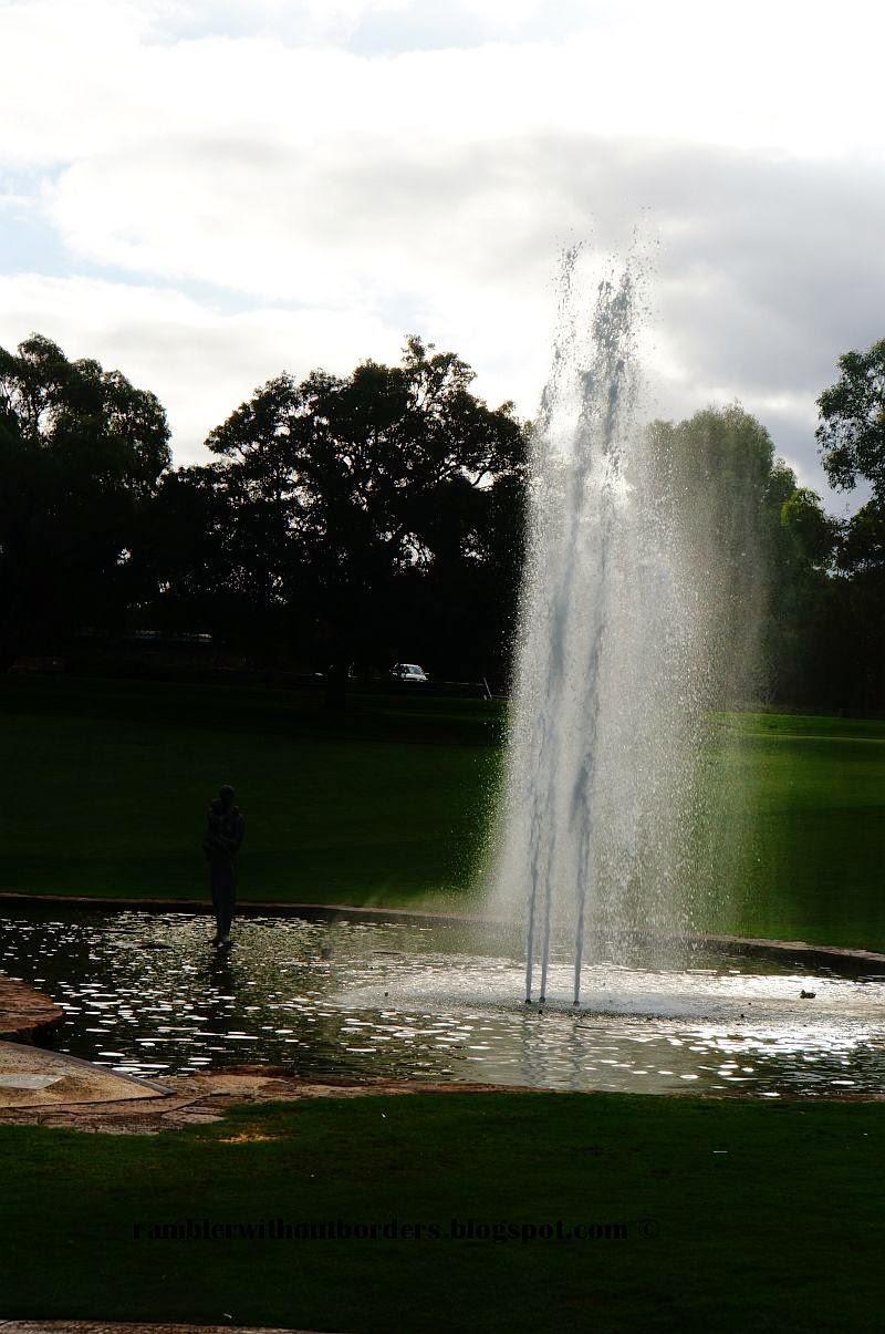 Fountain of Pioneer Women's Memorial, Kings Park, Perth