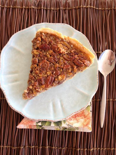Tarte, noix de pécan, pecan pie,