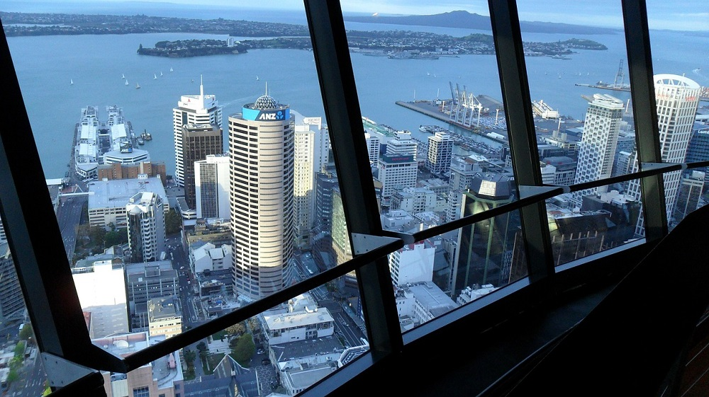 View of Auckland from Sky Tower