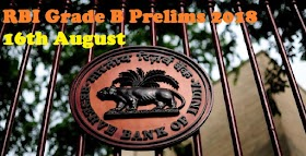 Questions Asked in RBI Grade B 2018 Prelims | 16th August - 2nd Shift